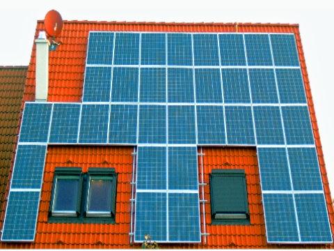 Photovoltaikanlage Café Lu